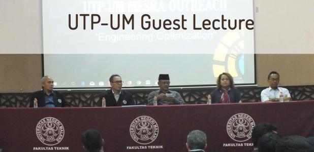 Kuliah Tamu bersama Mahasiswa Universiti Teknologi PETRONAS (UTP) Malaysia